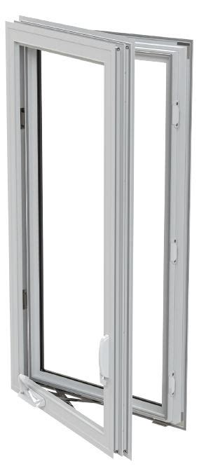 es impact rated casement window featuring roto type handle effortless
