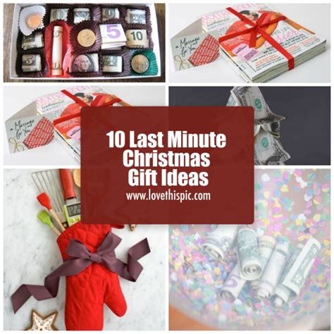 10 last minute christmas gift ideas