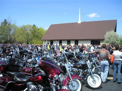 Bike Blessing Crowd Rolls Through Western Kenosha County