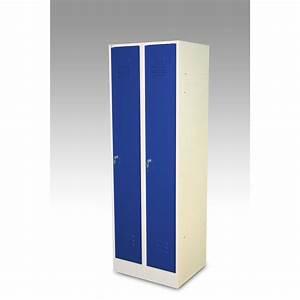 Armoire Vestiaire Metal : armoire vestiaire en metal double ~ Edinachiropracticcenter.com Idées de Décoration