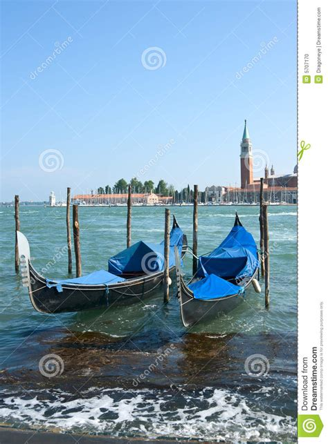 Boat Prices In Venice by Gondola Boats In Venice Harbor Stock Photo Image 5707170