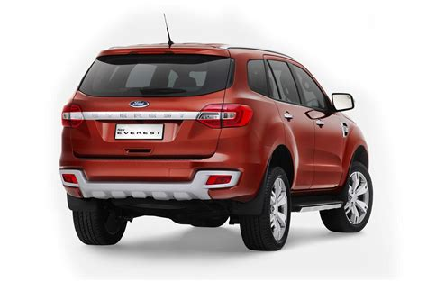 2018 Ford Everest Revealed To Be Best 7 Seat Suv On Sale