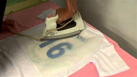 flocage personnalise sur votre  shirt avec votre fer