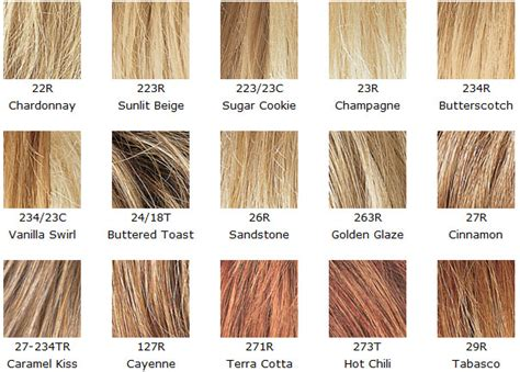revlon wigs color chart hairstyles ideas