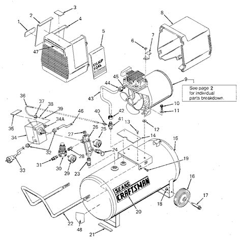 wiring diagram for sears air compressor webnotex