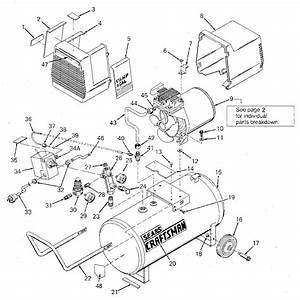 Craftsman Oilless Air Compressor Parts