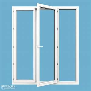 porte fenetre pvc gamme confort a 2 vantaux ouvrant a la With porte d entrée pvc en utilisant fenetre pvc 3 vantaux