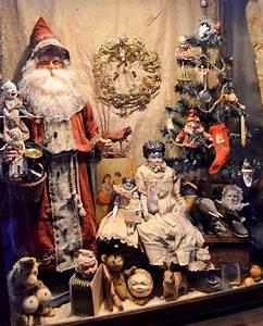 Beautiful, Antique, Christmas, Display