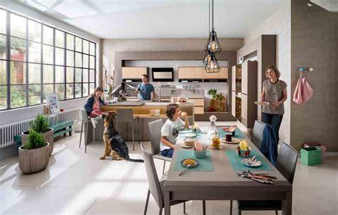 cuisine familiale recevoir dans sa cuisine inspiration cuisine