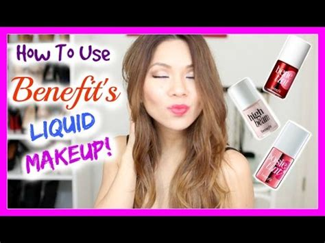 How To Use Benefit's Benetint, Posietint & High Beam Youtube