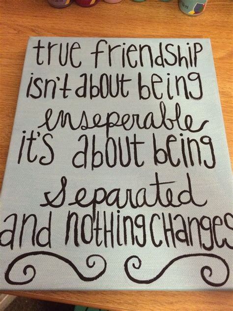 for best friend quote diy canvas best friend gift painting on canvas Canvas