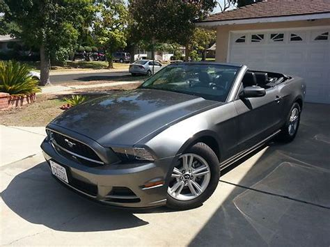 purchase   ford mustang base convertible  door