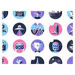 Icons Icon Styles Flat Changed Face Dominic