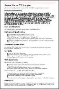 curriculum vitae resume sles for nurses dental cv sle myperfectcv