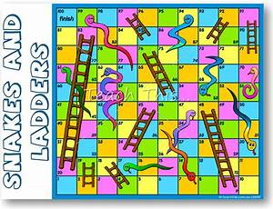 Snakes And Ladders Fun Printable Classroom Games And