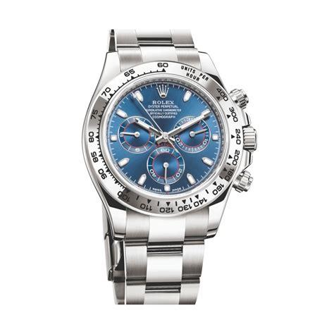 Buy Rolex Daytona Cosmograph 40mm Blue Dial white gold ...