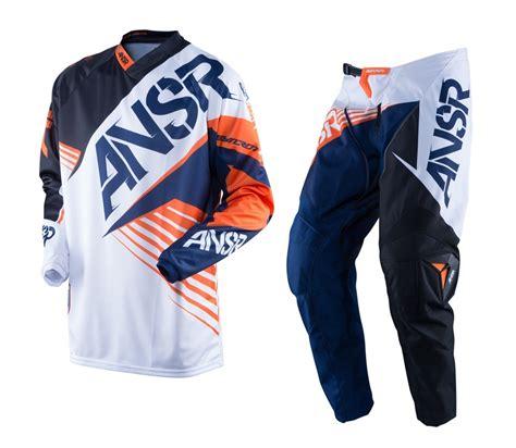 childrens motocross gear answer new 2016 youth mx syncron white black orange ktm