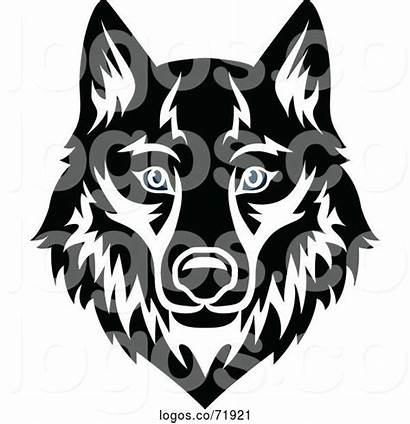 Wolf Face Mascot Logos Sm Tradition
