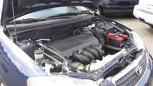 2006 Toyota Corolla  Indigo Blue - Stock  K1310711 - Engine