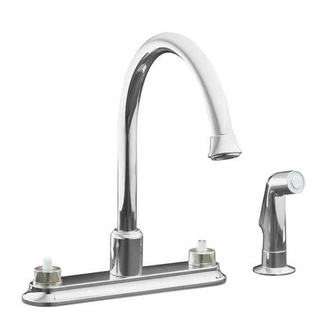 kohler coralais 2 handle standard kitchen faucet in