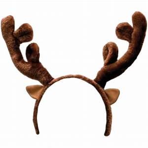 Reindeer Moose Antler Headband - Reindeer png download ...