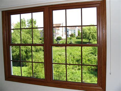 provincial oak vinyl double hung windows custom built windows