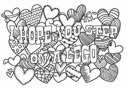 Coloring Pages Hope Adult Word Words Step