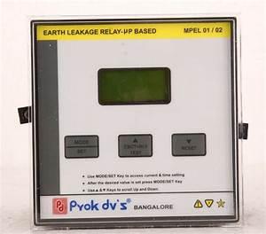 Mikro Earth Leakage Relay Nx301a