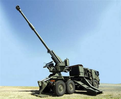 agni top t5 52 t5 45 155mm wheeled self propelled howitzer