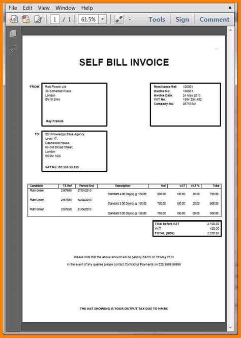 billing invoice template sample travel bill