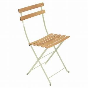 Chaise Bistro Fermob : chaise bistro naturel tilleul h tre naturel de fermob ~ Melissatoandfro.com Idées de Décoration