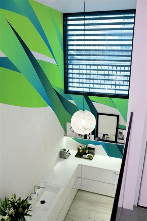 geometric wall design geometric wall design from pixers a interior design