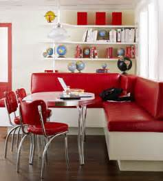 Banquette Style Retro by Hugs And Keepsakes Vintage Retro Kitchen Re Do