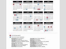 Consulta el calendario laboral 2018 de cada comunidad