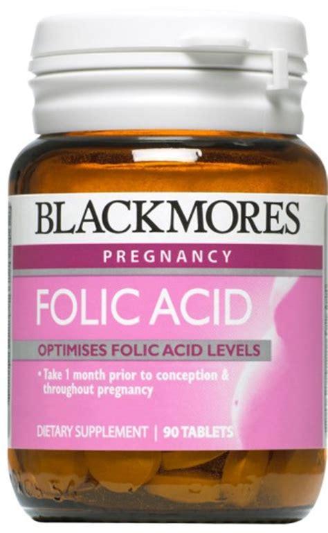 buy blackmores folic acid mcg tablets   health