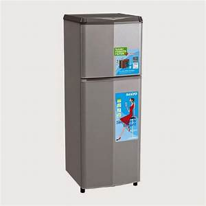 Sanyo Refrigerator - Kulkas 2 Pintu Srd235nsb
