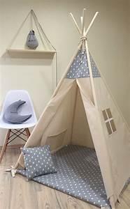 Tipi Chambre Bébé : 17 meilleures id es propos de tente tipi sur pinterest tipis enfants de tipi et artisanat ~ Teatrodelosmanantiales.com Idées de Décoration