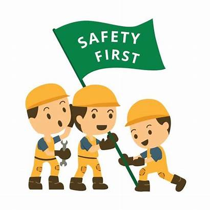 Safety Construction Vector Character Training Clip Background
