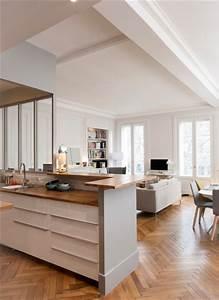 Bar D Appartement : un appartement traversant marion lanoe architecte d 39 int rieur et d coratrice lyon ~ Teatrodelosmanantiales.com Idées de Décoration