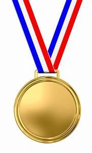 Blank gold medal - The Observation Deck