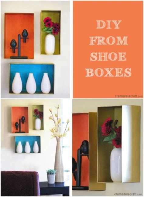 awesome diy ideas   craft  shoe boxes