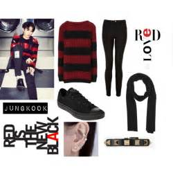 earring top of ear jungkook inspired polyvore