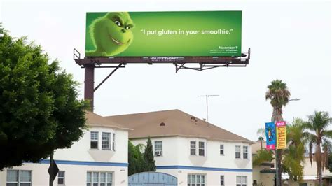 Funny Billboard Advertising billboard campaign  promote   grinch 700 x 393 · jpeg
