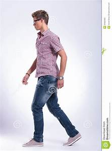 Casual Man Walking Forward Stock Photos - Image: 31022183