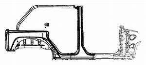 2014 Jeep Wrangler Panel  Wheelhouse  Left  Door  Aperture