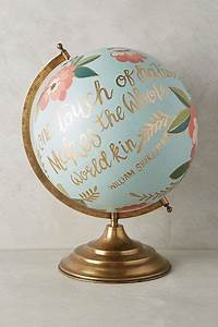 hand painted globes | Tumblr