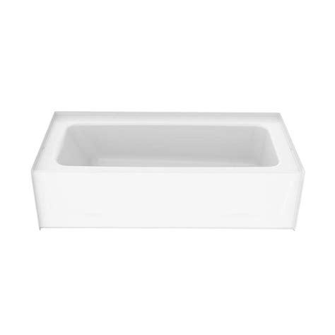 composite tub aquatic a2 6030ctr 5 ft composite right drain rectangular