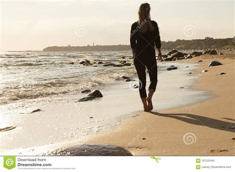 Sad Woman At Sea Stock Photo. Image Of Ocean, Sadness