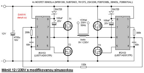 sinusoidal inverter circuit diagram circuit diagram
