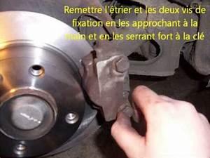 Plaquette De Frein Et Disque : tuto xantia changer les plaquettes et disques de frein arrieres youtube ~ Medecine-chirurgie-esthetiques.com Avis de Voitures